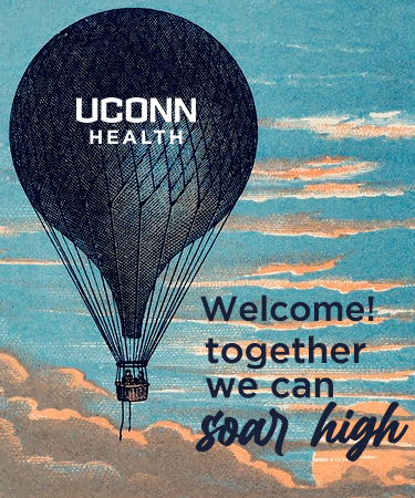 Welcome Together we can Soar High and hot air baloon eCard