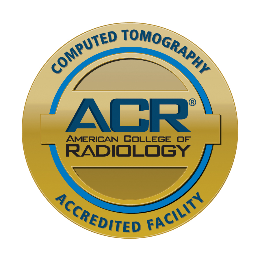 Computed Tomography Accredited Facility Seal