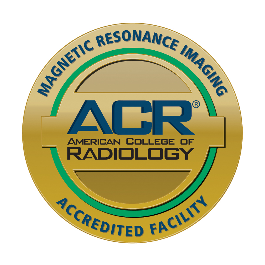 Magnetic Resonance Imaging Accredited Facility Seal