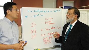 Dr. Fei Duan and Dr. Pramod Srivastava