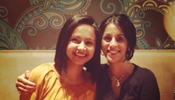 Nandini and Sonali
