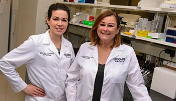 Erica Lorenzo and Dr. Laura Haynes
