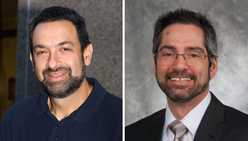 Dr. Adam Adler and Dr. Anthony Vella
