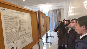 Poster presentation at the 2019 Immunology Retreat