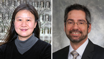 Dr. Beiyan Zhou and Dr. Anthony Vella