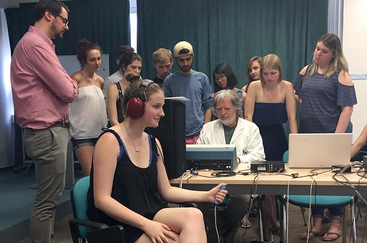 Neurobiology of Hearing class