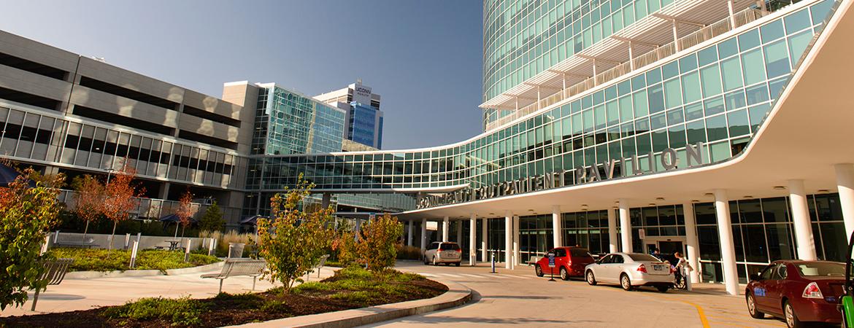 UConn Health Outpatient Pavilion building