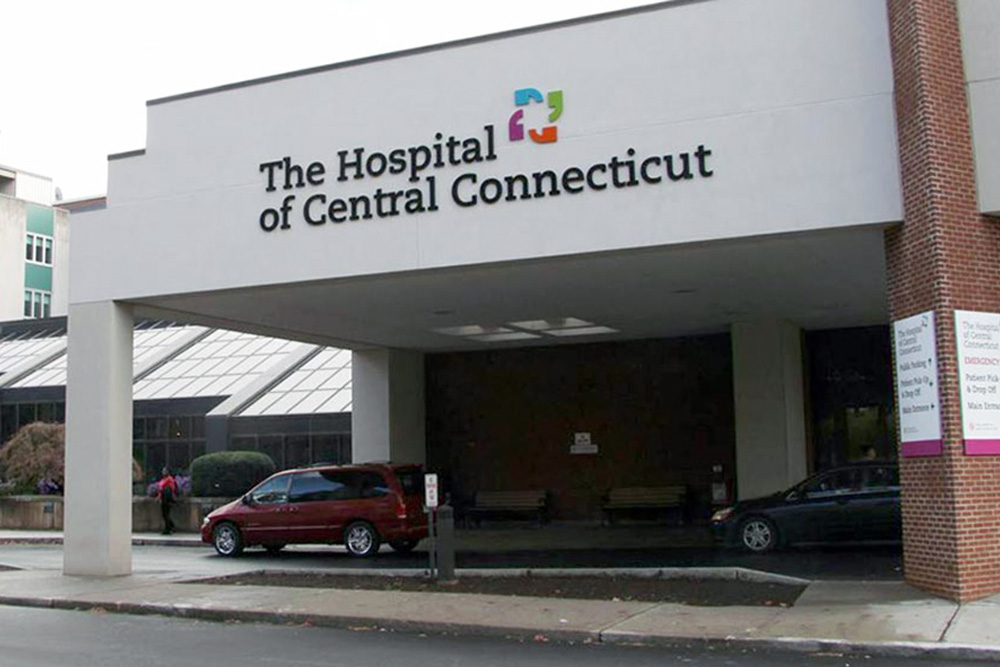 The Hospital of Central CT building exterior
