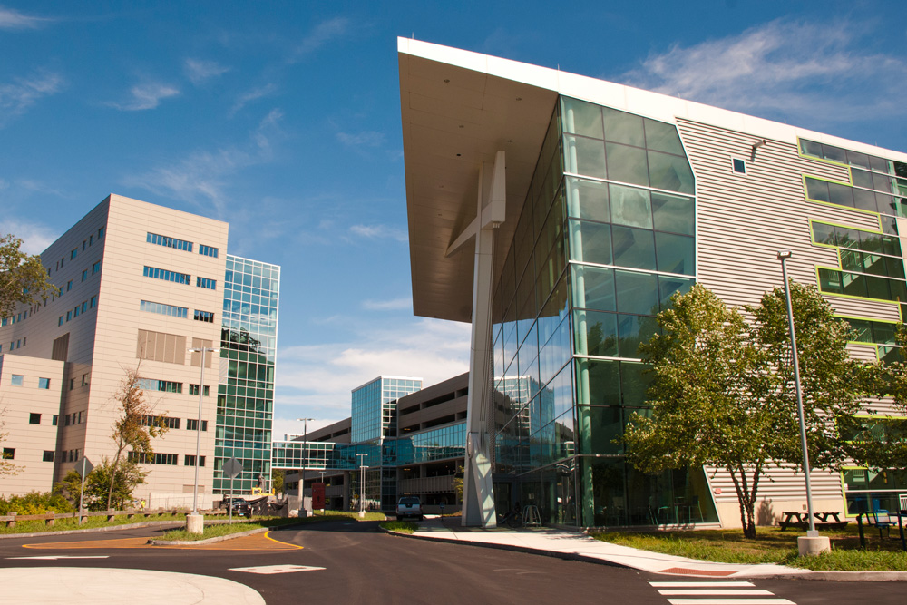 UConn Health MARB building exterior
