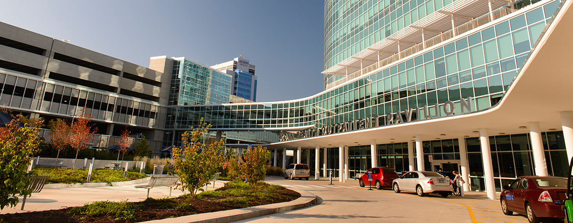Outpatient Pavilion Entrance