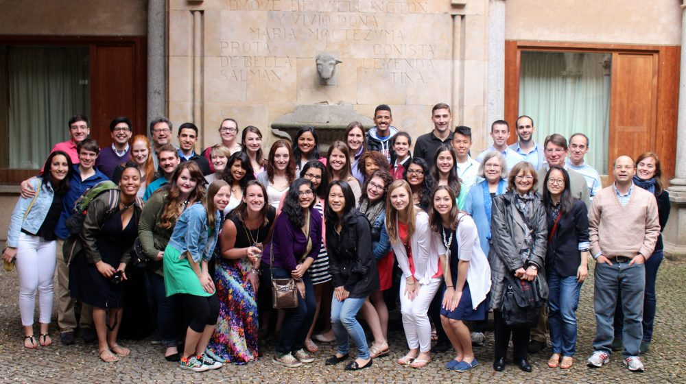 Students in Salamanca
