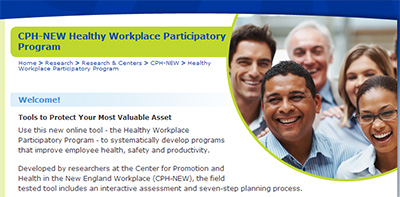 Health Workplace Participitory Program website