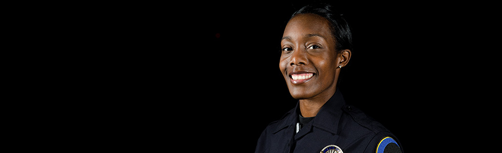Female corrections officer