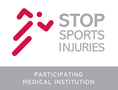 STOP sport injuries logo