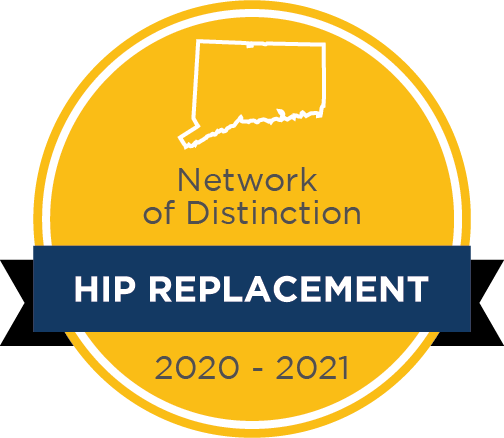 Network of Distinction Hip Replacement badge