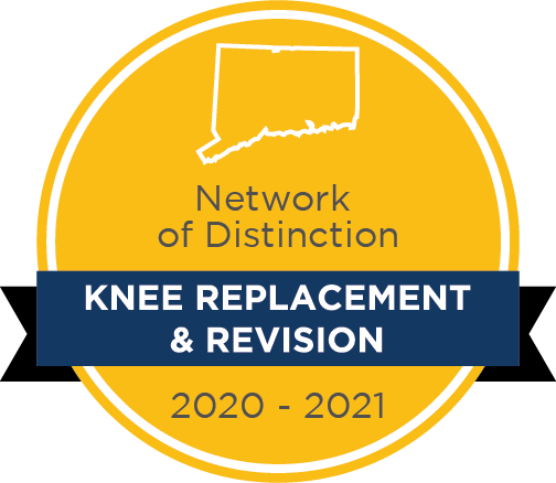 Network of Distinction Knee Replacement & Revision badge