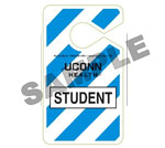 Example of a Student HangTag