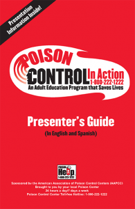 Poison Control in Action brochure cover