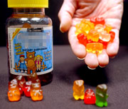 Gummy bear vitamins and gummi bears