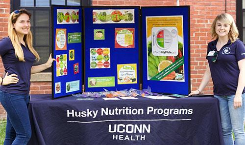 Husky Nutrition at Farmers Market