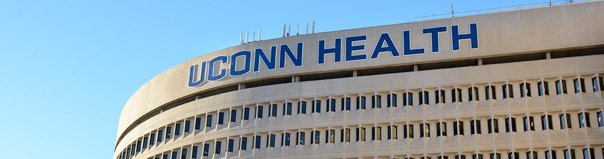 UConn Health building sign