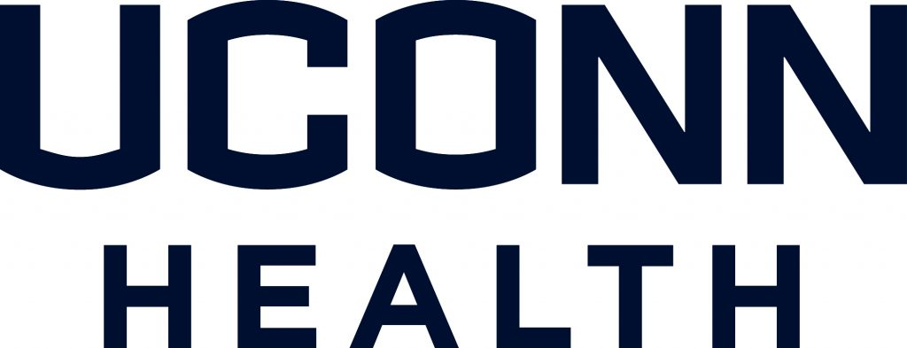 uconn health stacked blue
