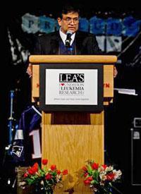 Dr. Pramod Srivastava, Lea's Foundation for Leukemia Research Honoree.