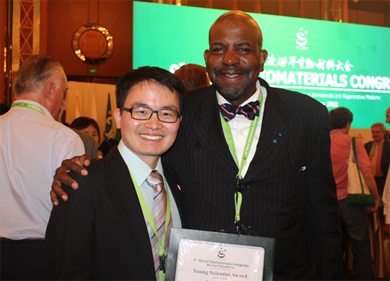 Dr. Meng Deng and Dr. Cato Laurencin