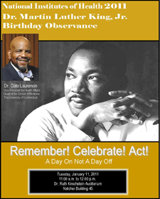 Remember! Celebrate! Act! flyer