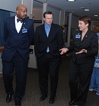 Cato Laurencin, Christopher Murphy, and Ellen Leone