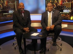 Dr. Cato Laurencin and Stan Simpson