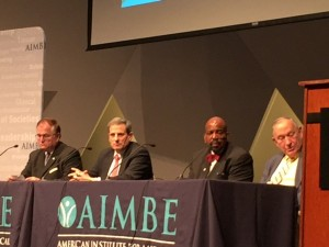 AIMBE leadership panel