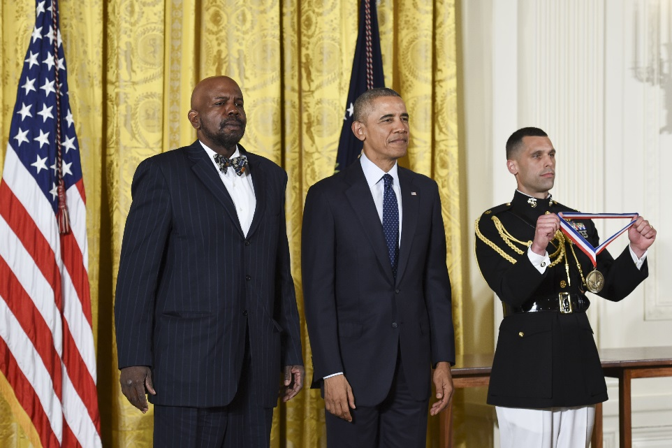 Laurencin Receives White House Honors