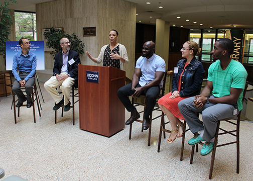 Mentorship Science Café at UConn Health