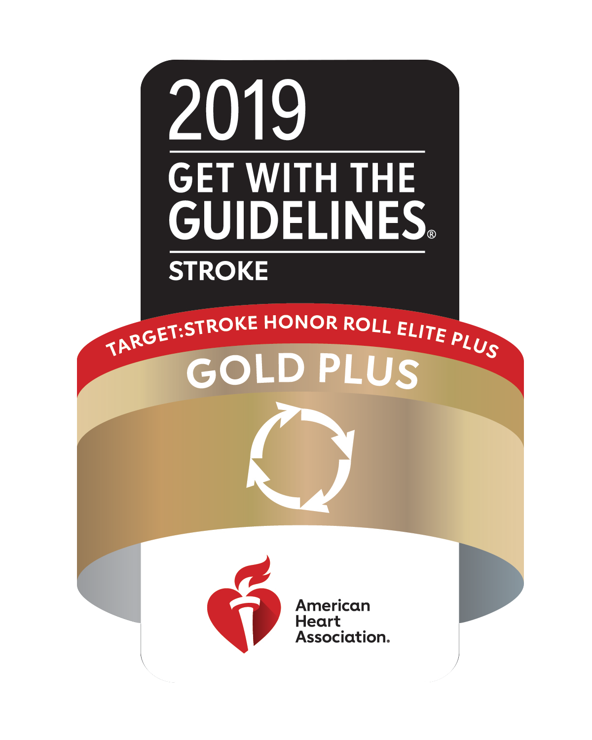 American Heart Association 2019 Get with the Guidelines Gold Plus Award