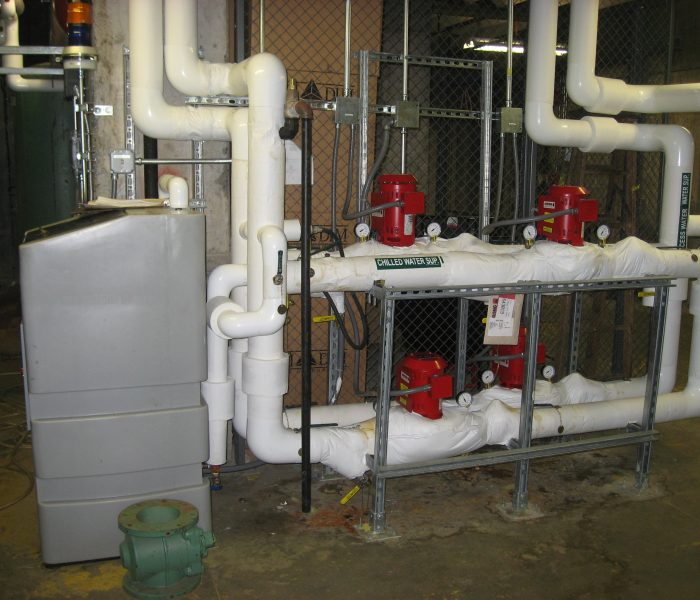 New pumps for cooling water