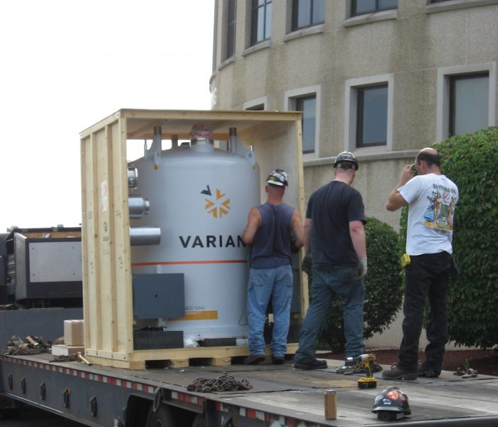Uncrating the magnet