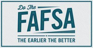 Do the FAFSA sign