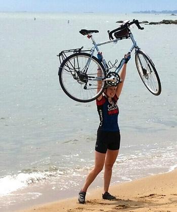 Coast to Coast biker