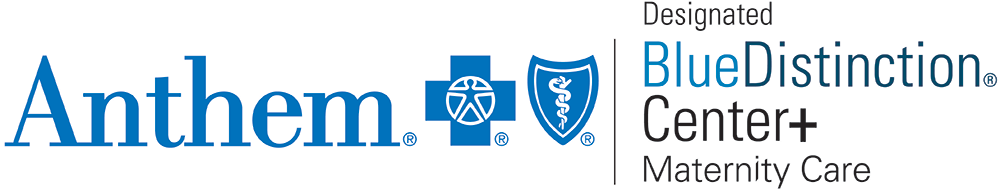 Anthem Designated Blue Distinction Center+ in Maternity Care logo