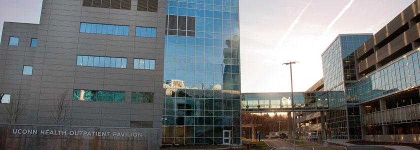 Exterior UConn Health Outpatient Pavilion