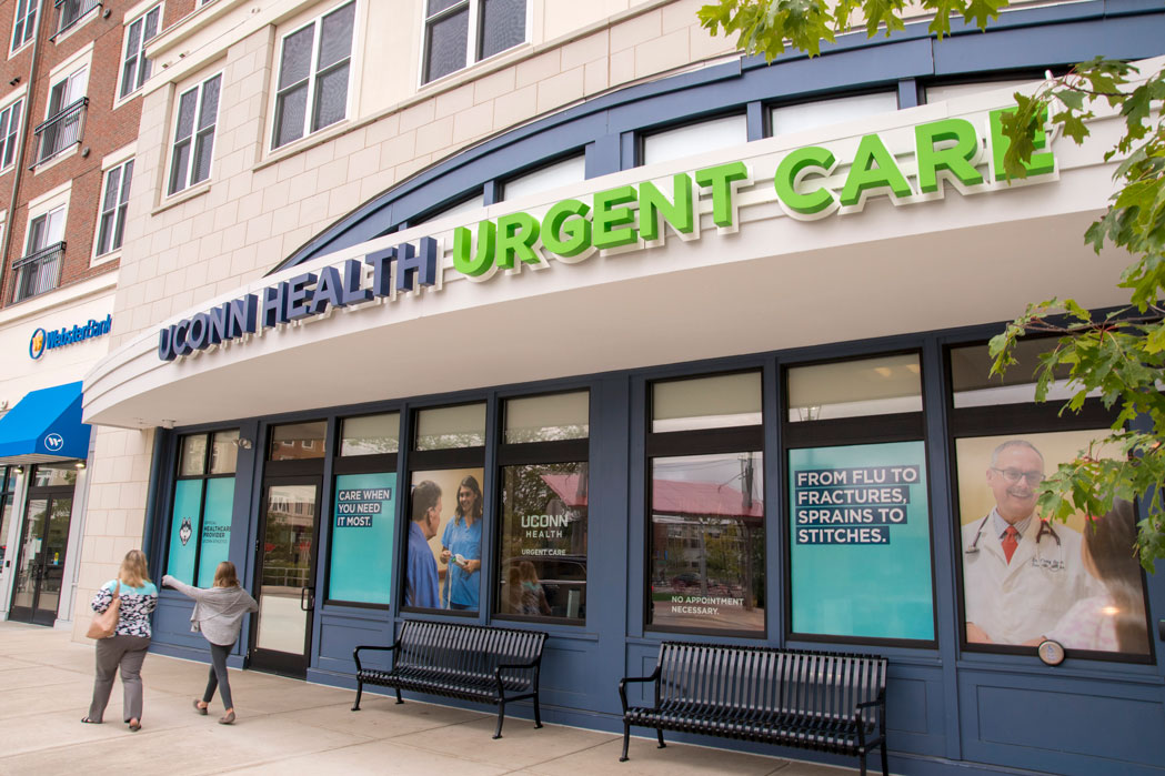 UConn Health Storrs Center urgent care location
