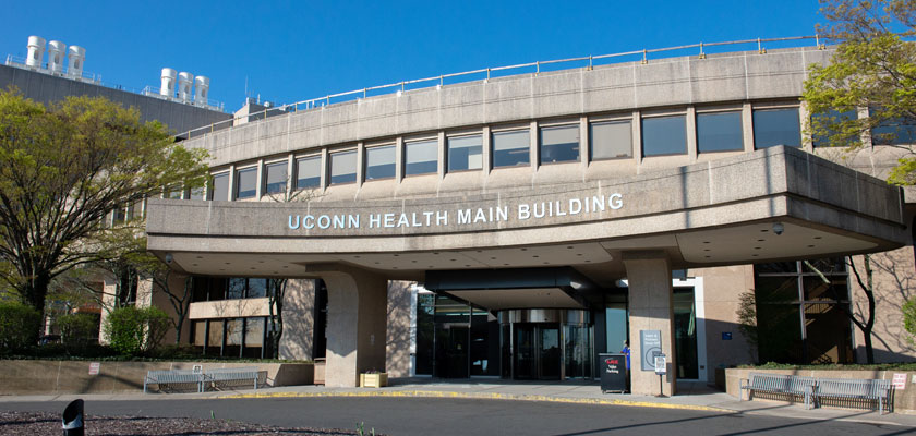UConn Health main entrance