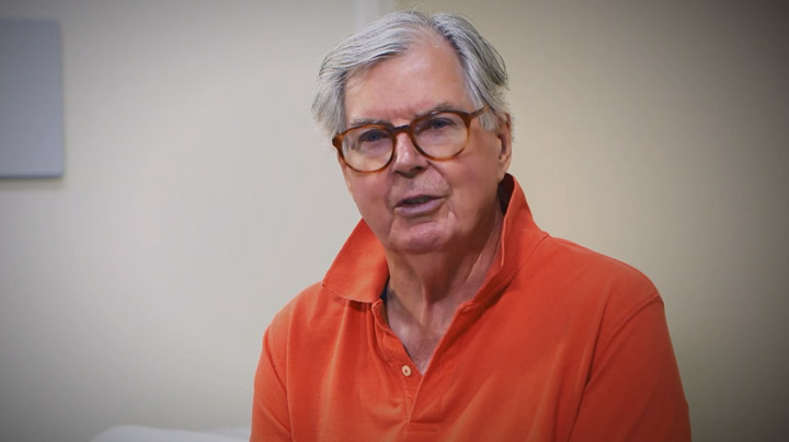George, patient in the UConn Center on Aging