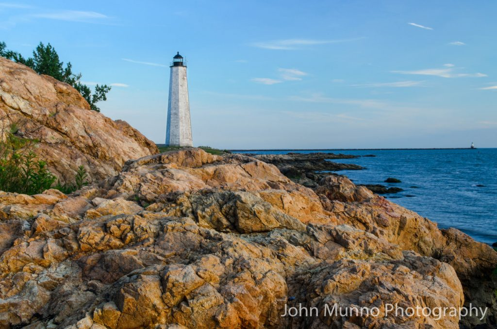Lighthouse in East Haven, CT (John Munno Photography)