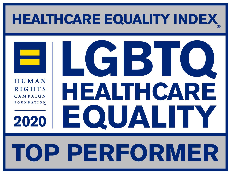 LGBTQ Healthcare Equality logo